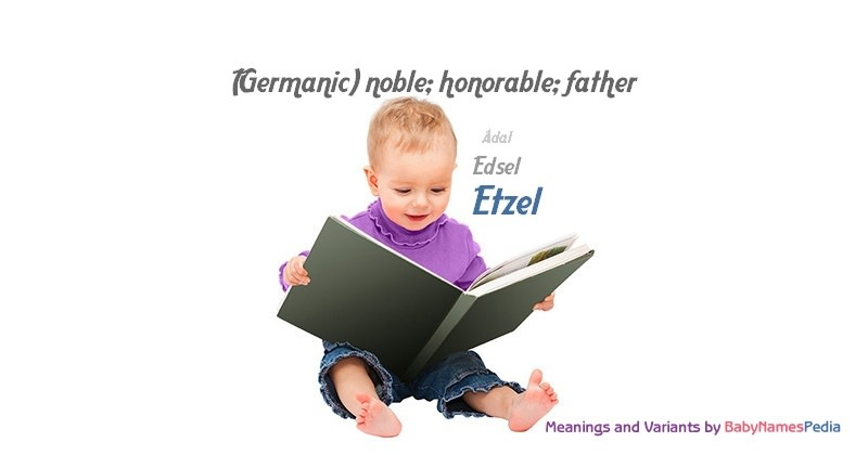 Meaning of the name Etzel