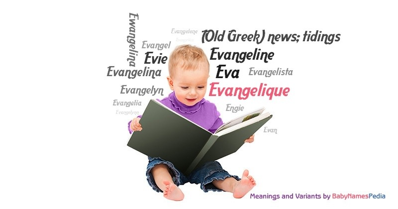 Meaning of the name Evangelique
