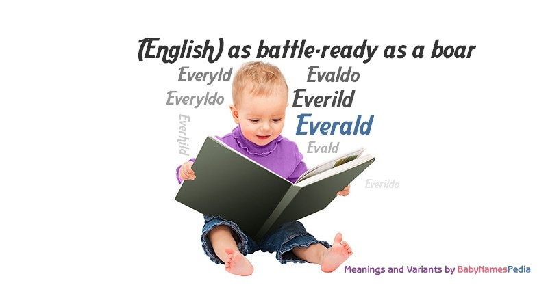 Meaning of the name Everald