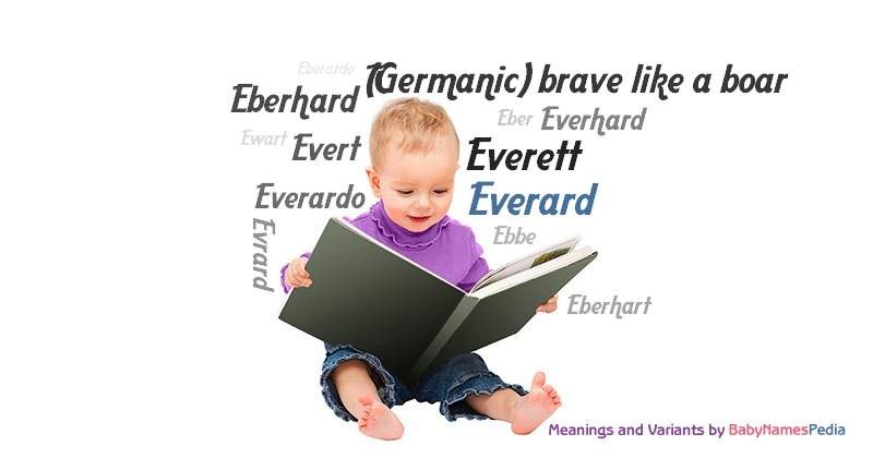 Meaning of the name Everard