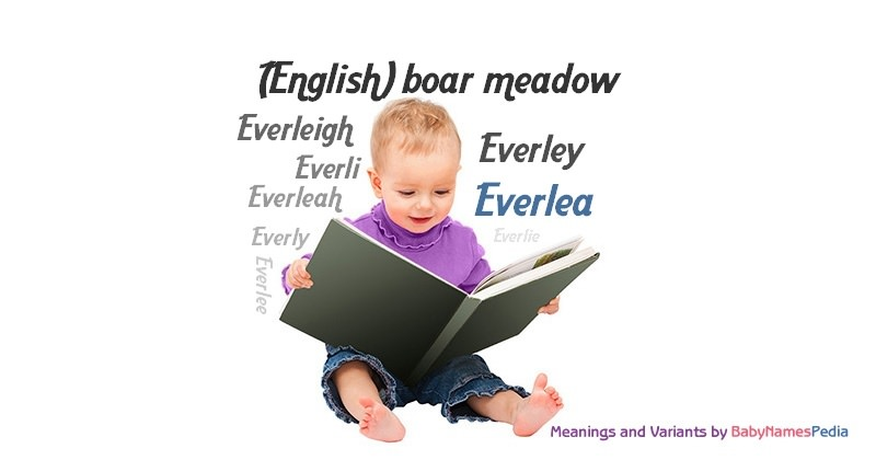 Meaning of the name Everlea