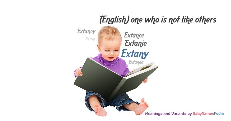 Meaning of the name Extany