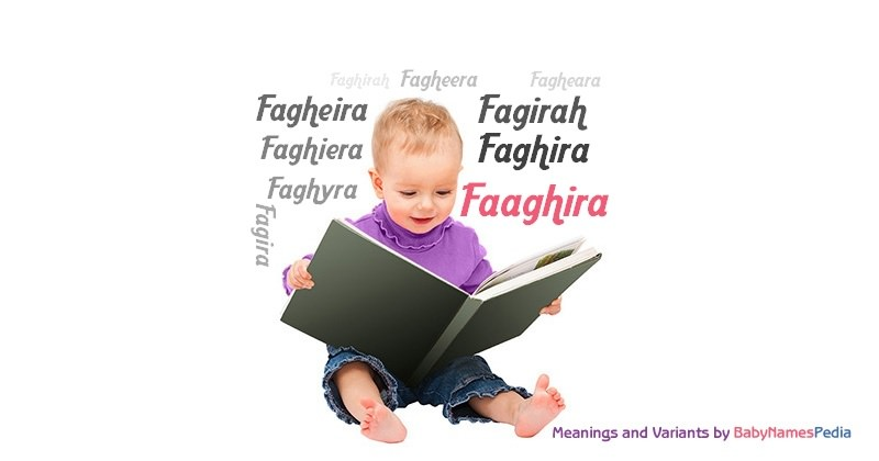 Meaning of the name Faaghira