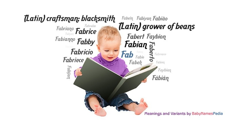 Meaning of the name Fab