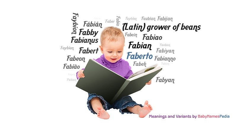 Meaning of the name Faberto