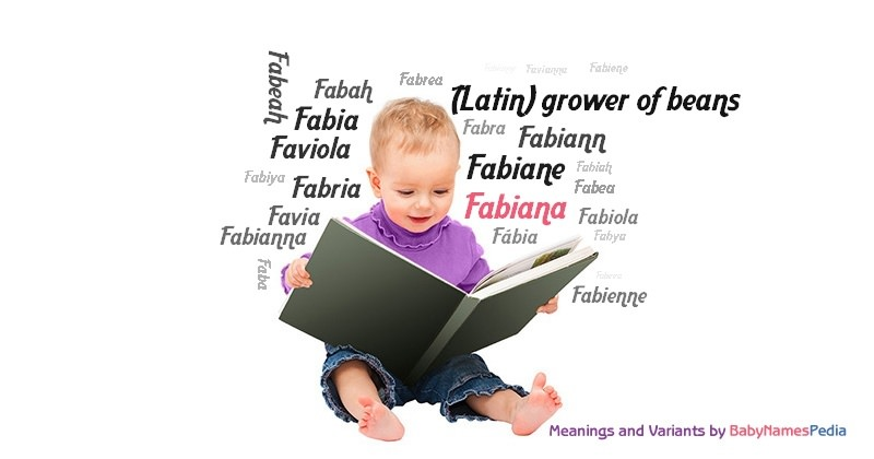 Meaning of the name Fabiana