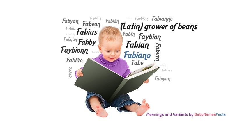 Meaning of the name Fabiano