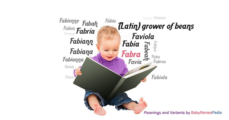 Meaning of the name Fabra