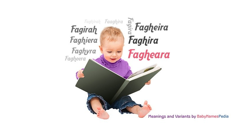 Meaning of the name Fagheara