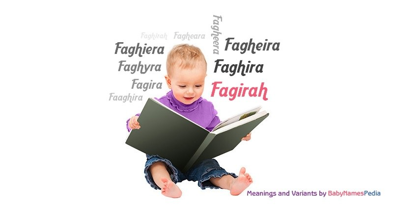 Meaning of the name Fagirah