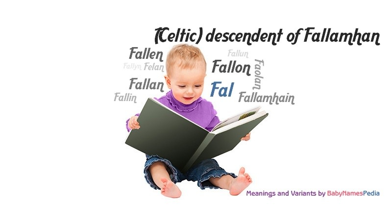 Meaning of the name Fal