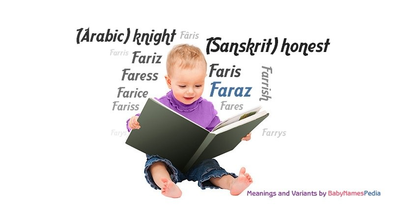 Meaning of the name Faraz