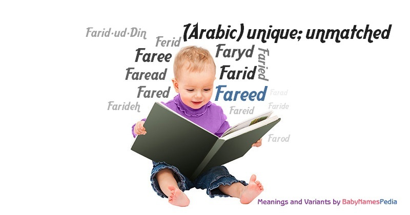 Meaning of the name Fareed
