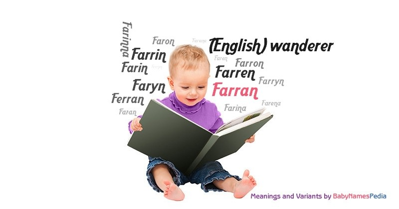 Meaning of the name Farran