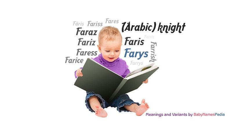 Meaning of the name Farys