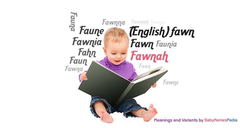 Meaning of the name Fawnah
