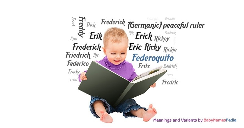 Meaning of the name Federoquito