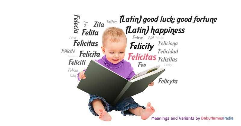 Meaning of the name Felícitas