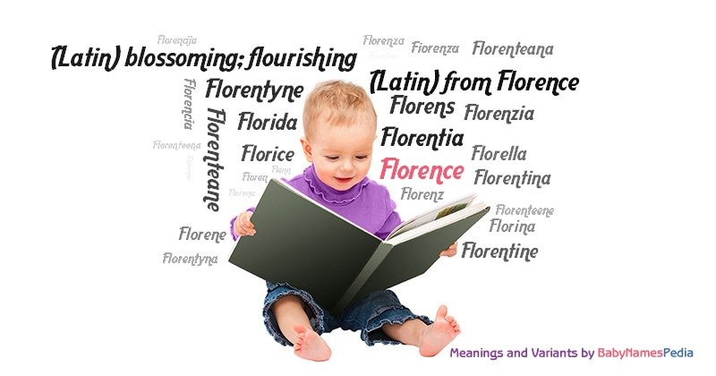 Meaning of the name Florence
