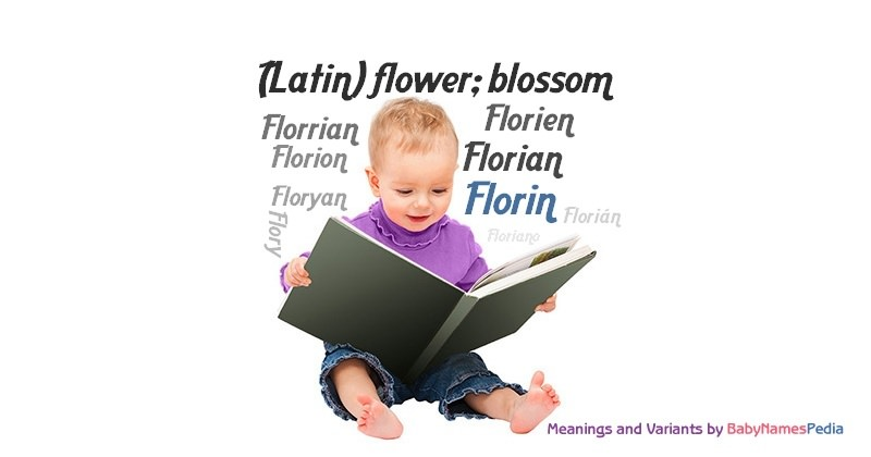 Meaning of the name Florin
