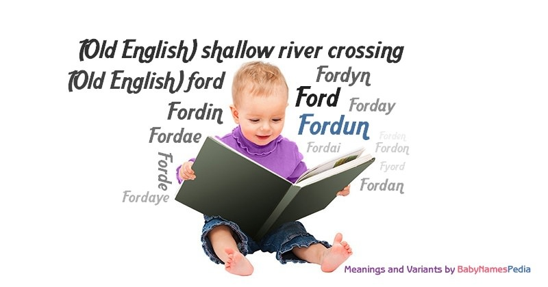 Meaning of the name Fordun