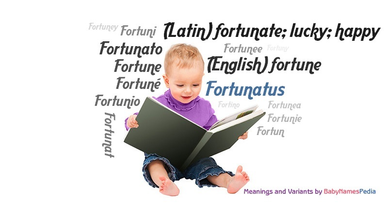 Fortunatus meaning of fortunatus what does fortunatus mean for Portent meaning in english