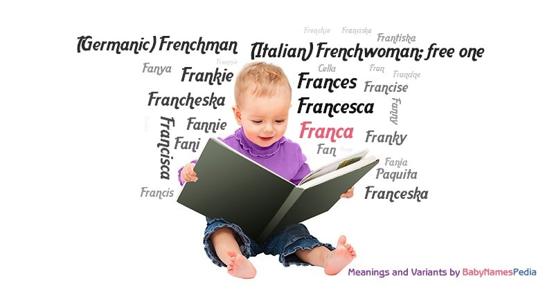 Meaning of the name Franca