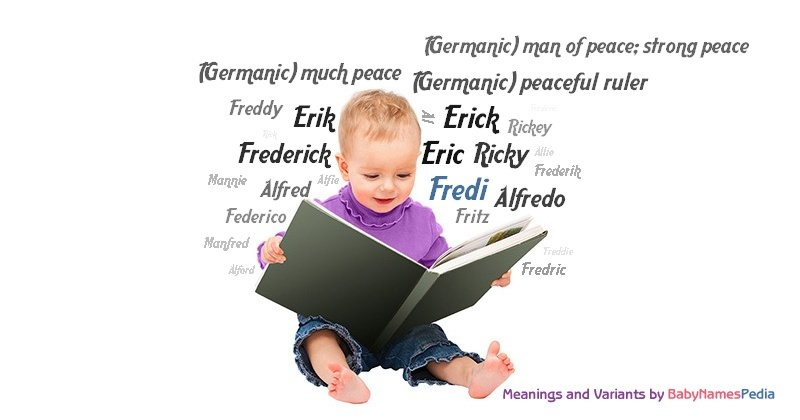 Meaning of the name Fredi