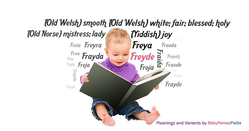 Meaning of the name Freyde