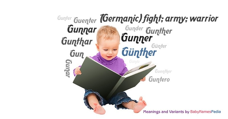 Meaning of the name Günther