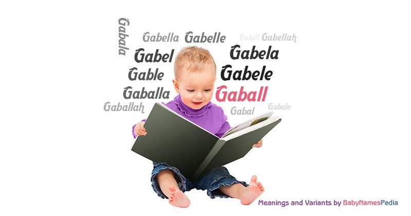 Meaning of the name Gaball