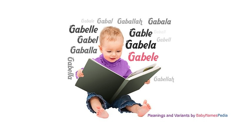 Meaning of the name Gabele