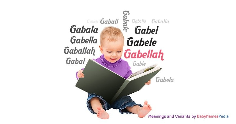 Meaning of the name Gabellah