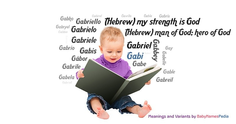 Meaning of the name Gabi