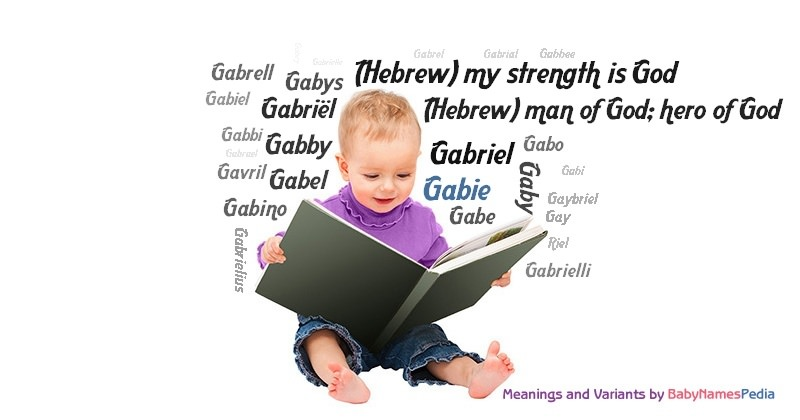 Meaning of the name Gabie