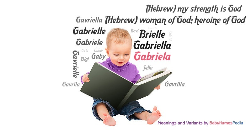 gabriela meaning of gabriela what does gabriela mean