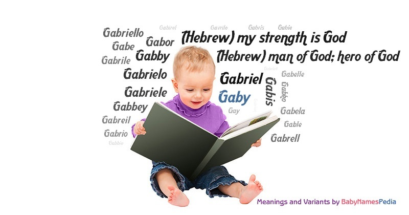Meaning of the name Gaby