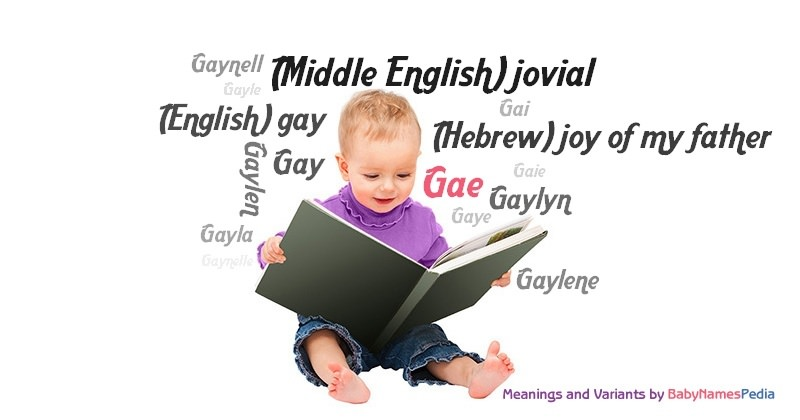Meaning of the name Gae