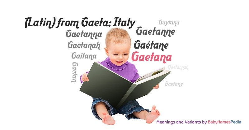Meaning of the name Gaetana