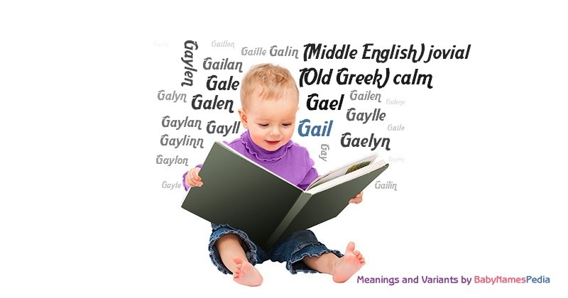 Meaning of the name Gail