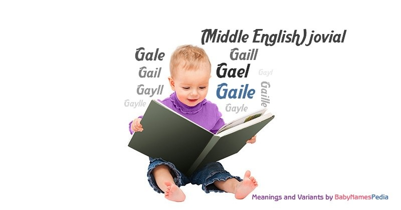 Meaning of the name Gaile