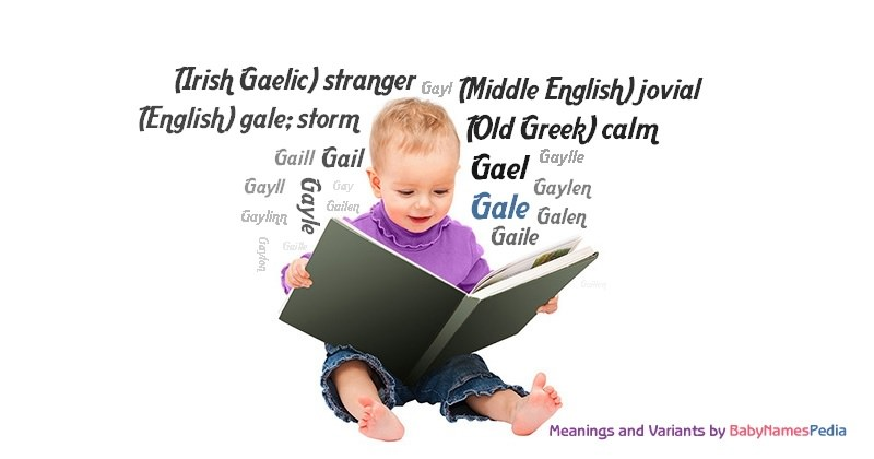 Meaning of the name Gale