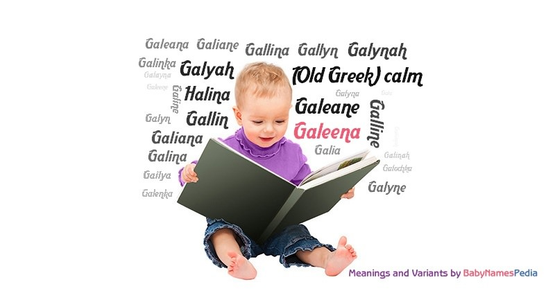 Meaning of the name Galeena