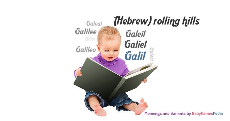 Meaning of the name Galil