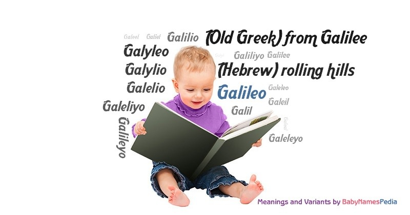 Meaning of the name Galileo