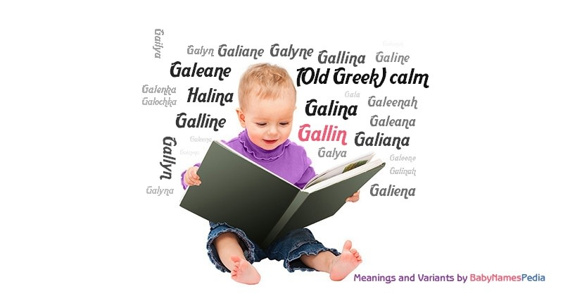 Meaning of the name Gallin
