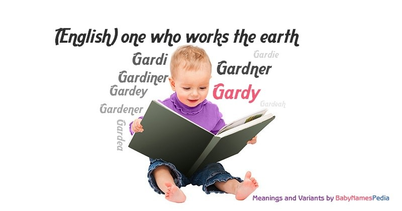 Meaning of the name Gardy