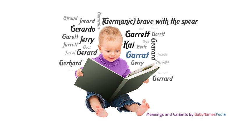 Meaning of the name Garrat