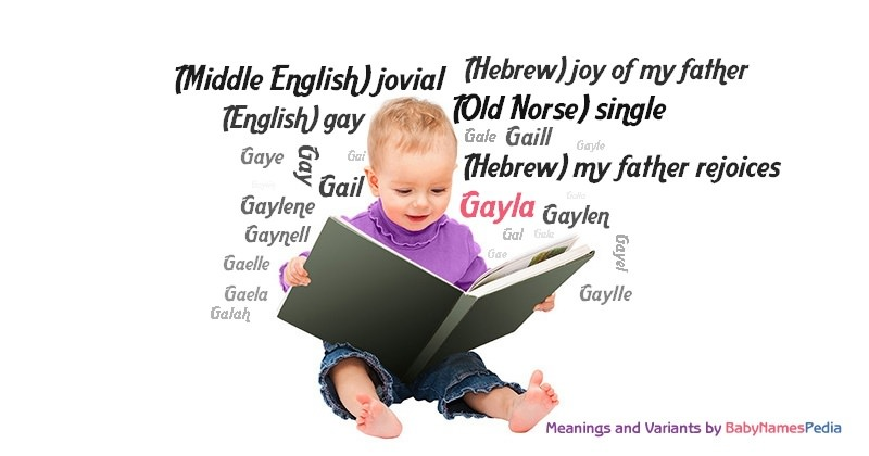 Meaning of the name Gayla