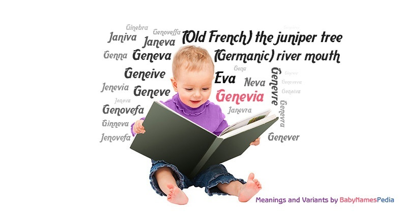 Meaning of the name Genevia